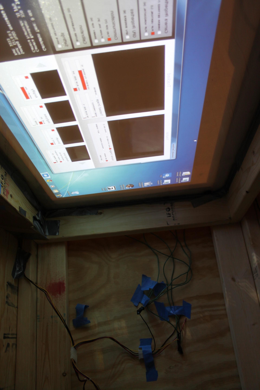 Project Weekend 1 Windows 7 Multi Touch Table using FTIR DIY